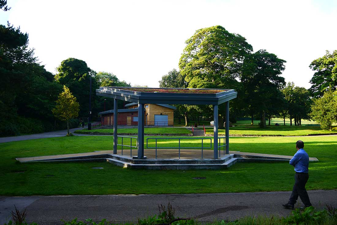 Green Roofs Naturally Middleton Bandstand