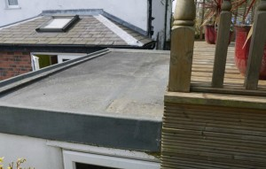 Green roofs naturally garage extension