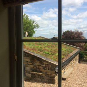A View Through A Kitchen Window